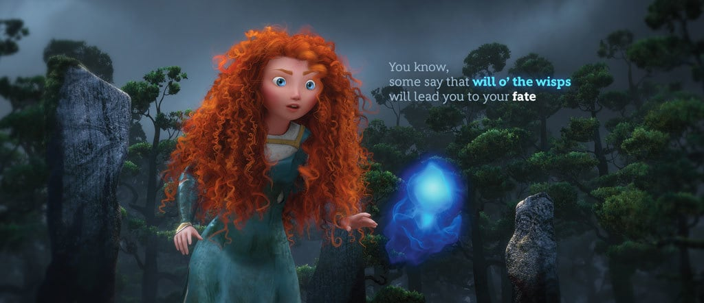 Merida Animated Quote