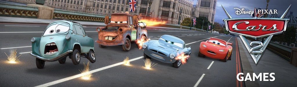 Cars 2 Games Hero