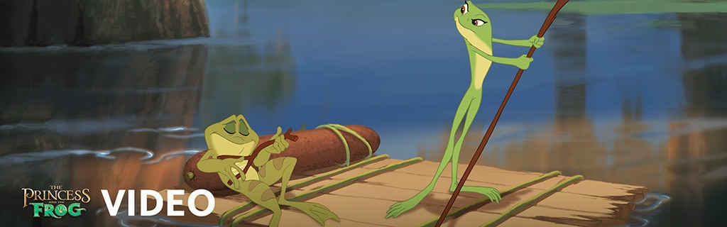 Princess and the Frog - Video