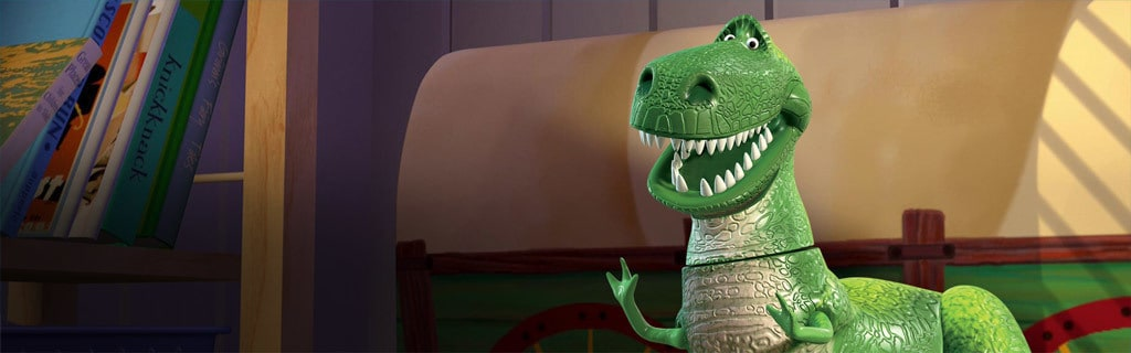 Toy Story Rex Hero