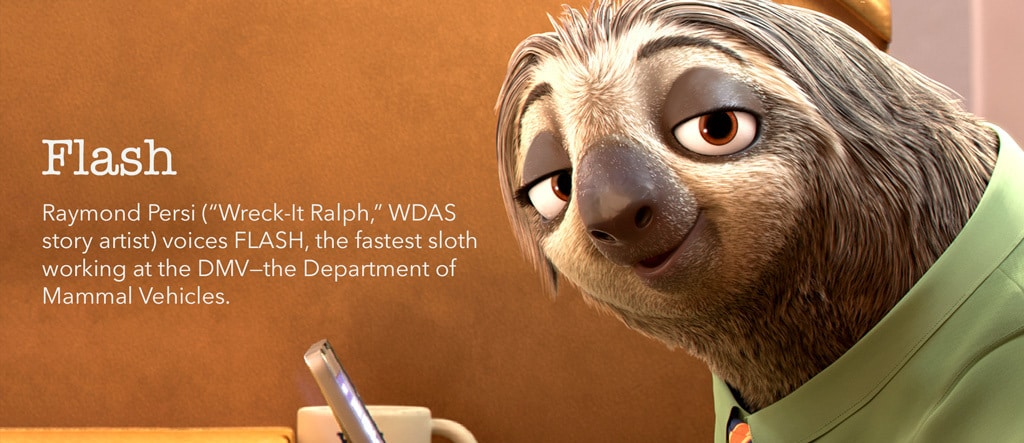 Zootopia - Flash Character - ID