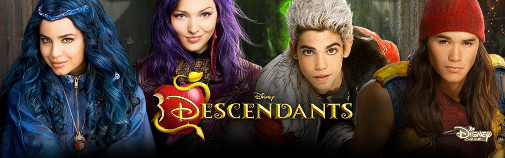Descendants Homepage Hero