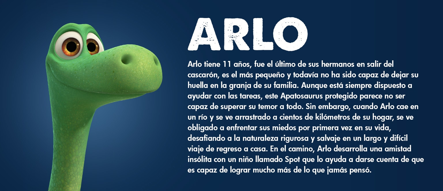 The Good Dinosaur - Character - Arlo - Aja