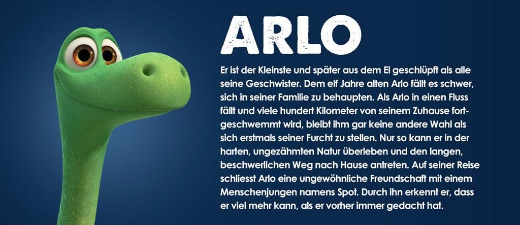 Arlo & Spot Character Arlo