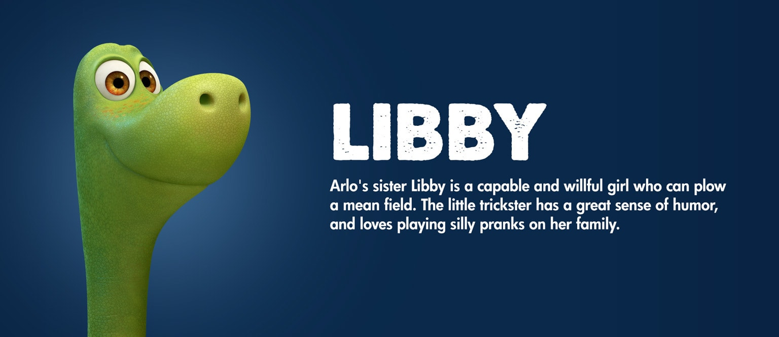 The Good Dinosaur Character Libby - MY