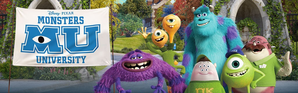 Monsters University - Property Page Hero
