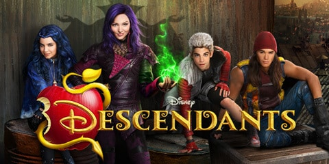 Descendants Hero - Key Art - Animated - TH