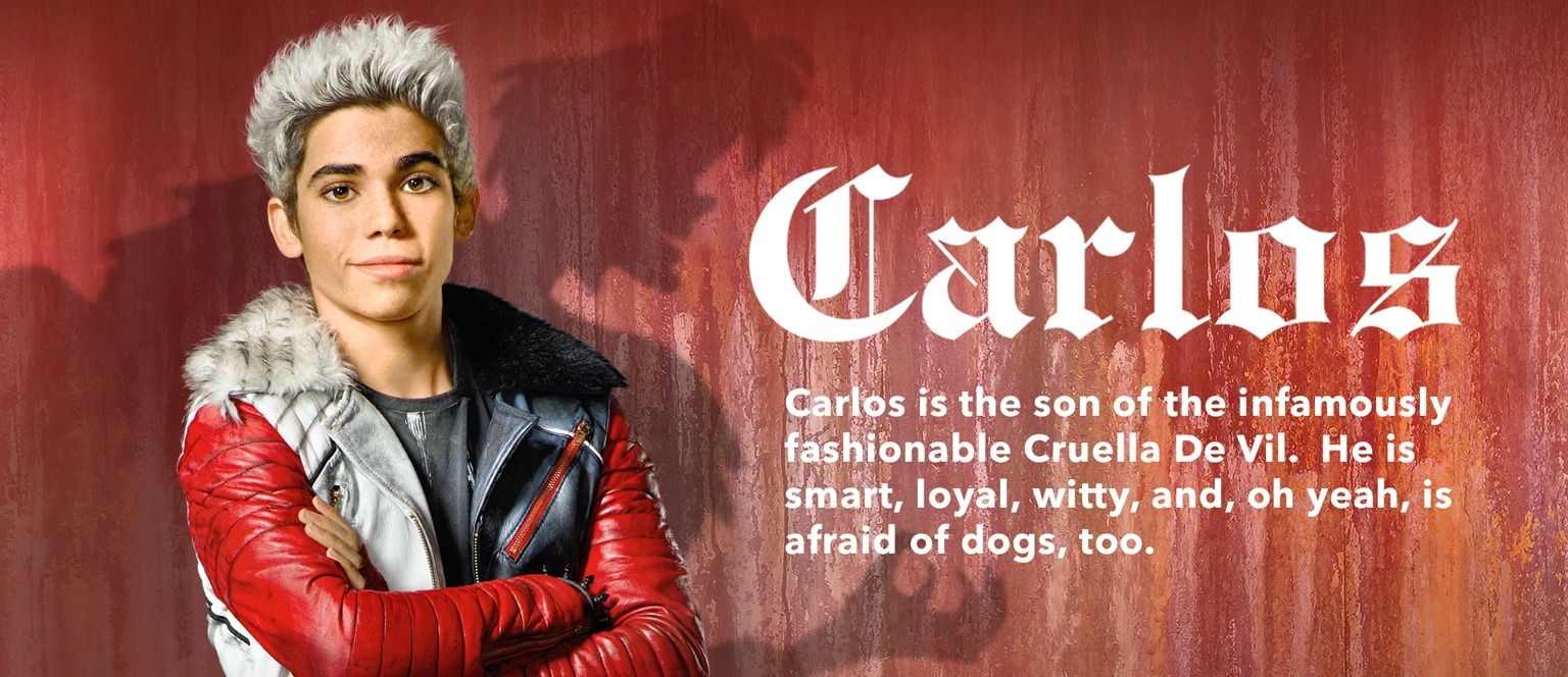 Descendants Character Slider Carlos - ID