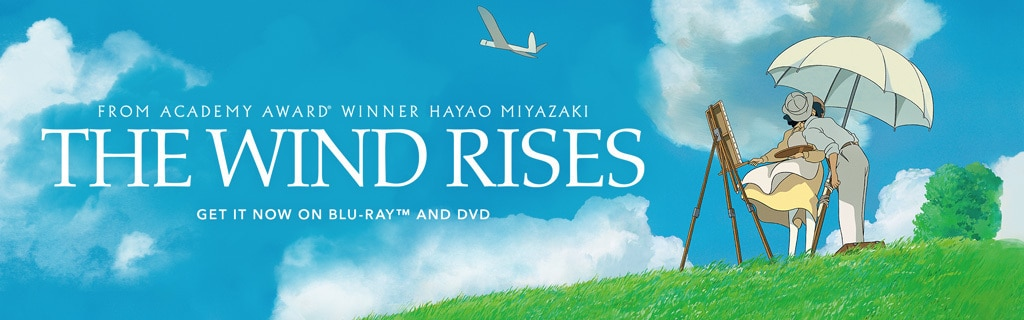 The Wind Rises Homepage Hero