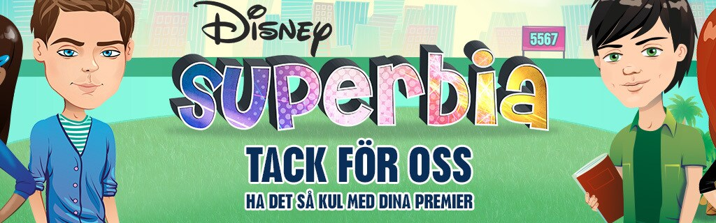 SE - Disney Channel Superbia - Site Hero