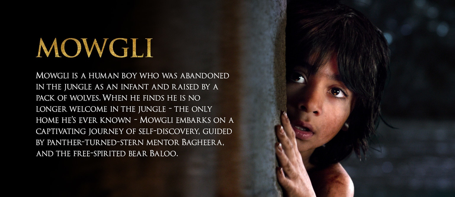 Jungle Book Characters Hero - Mowgli