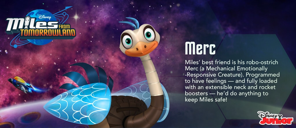 Miles From Tomorrowland - Merc Hero