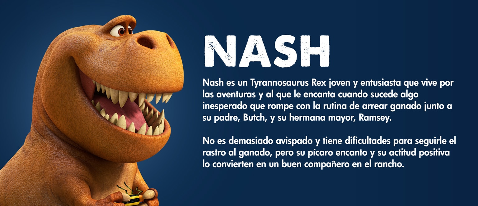 The Good Dinosaur - Character - Nash - Aja
