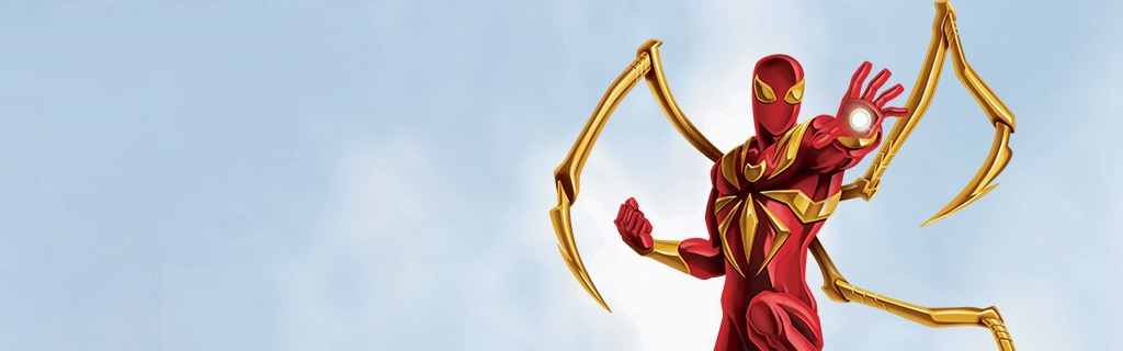 Iron Spider Character Page Hero NEW