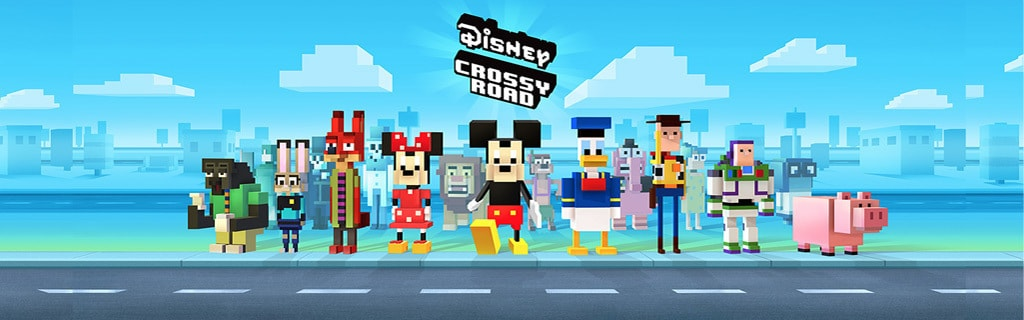 Disney Crossy Road - App Page - Game - Hero AU