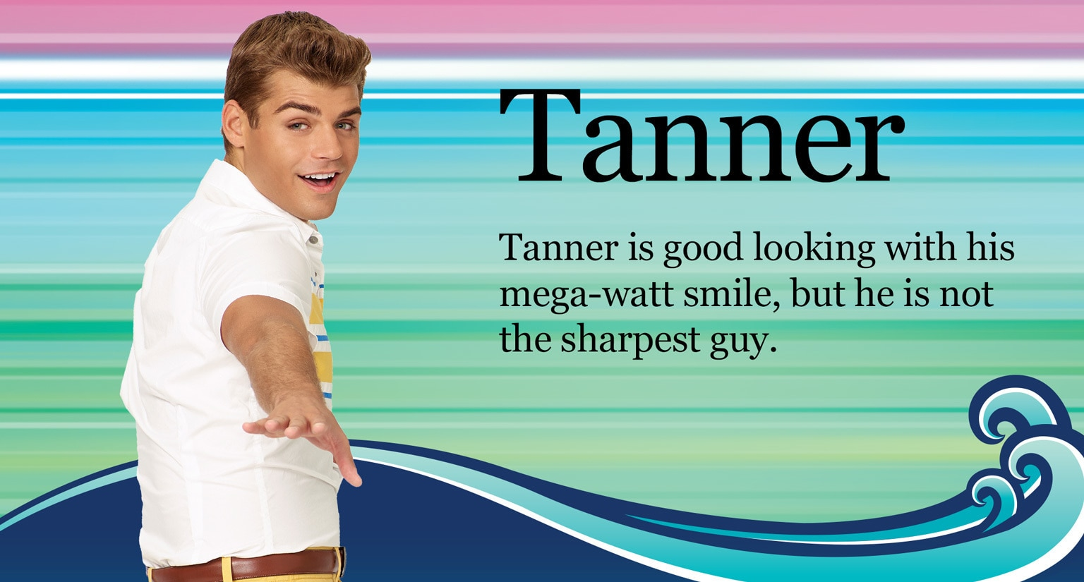 Teen Beach 2 - Show Home - Tanner Character Hero