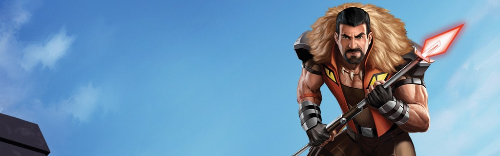 KRAVEN THE HUNTER character page hero NEW DK