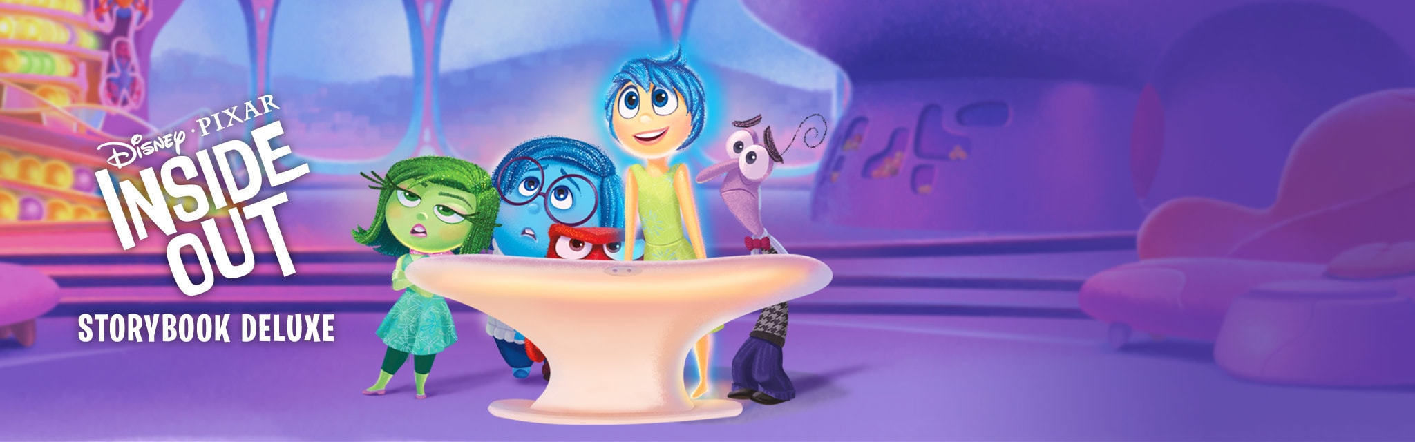 Inside Out: Storybook Deluxe App - Portal Hero - TH