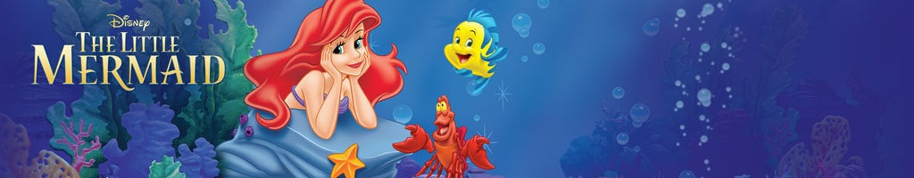 The Little Mermaid - Site Link (Short Hero)