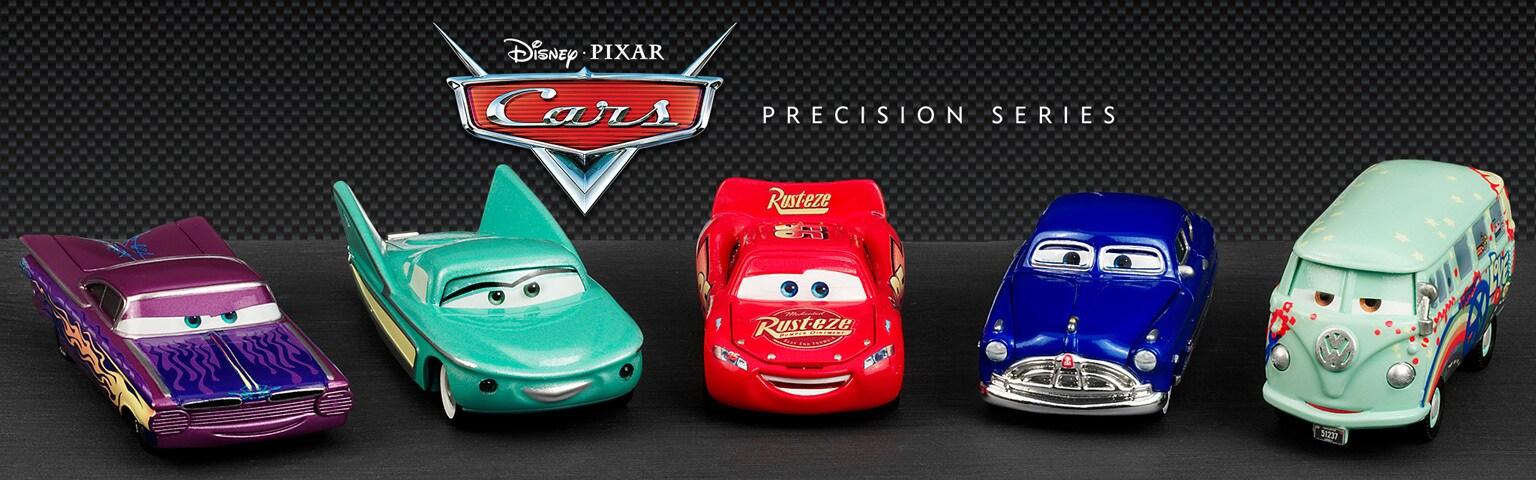Cars Precision Series - Cars Lineup