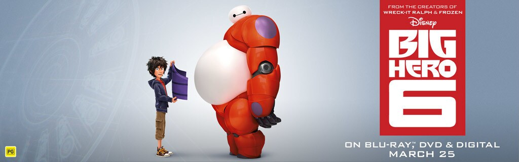 Big Hero 6 - Games Page Hero