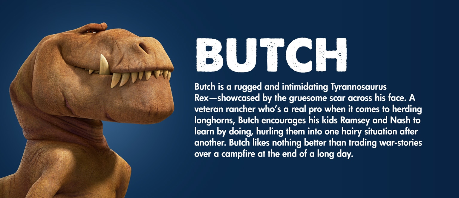 The Good Dinosaur Character Butch - MY