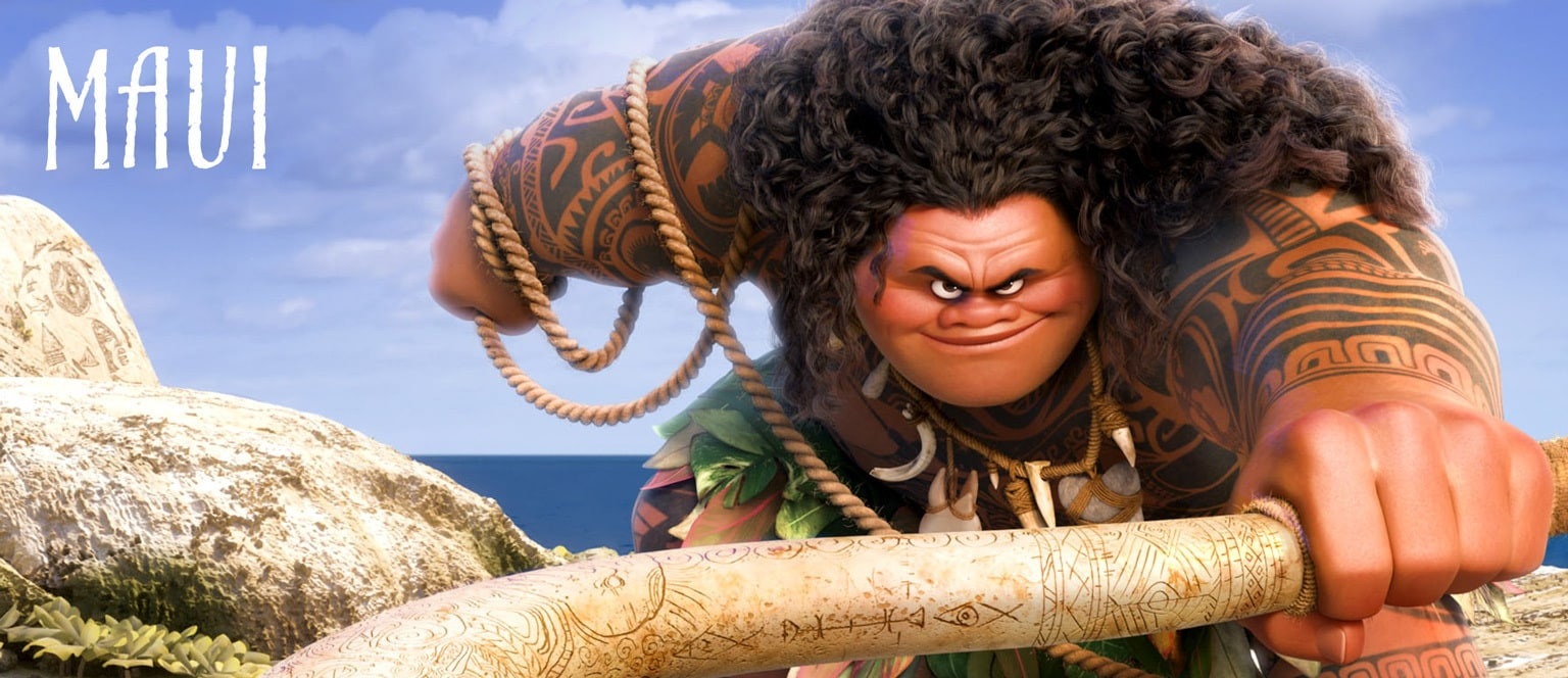 Moana - Character Hero - Maui - TH