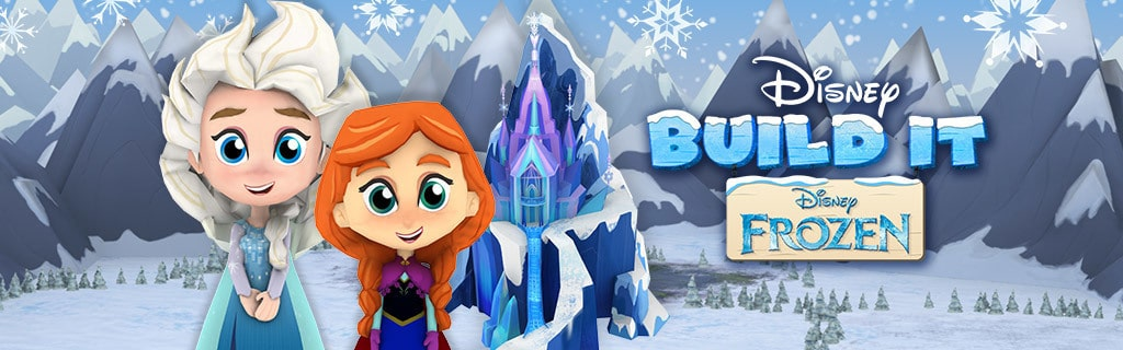 Frozen - Disney Build It - App Page - Game - Hero AU