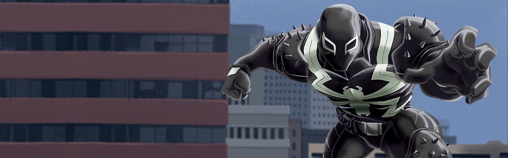 Agent Venom Character Hero NEW