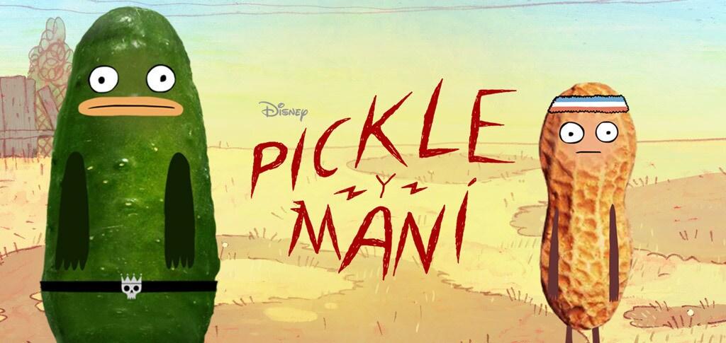 Pickle y Maní Show Hero (Blank)