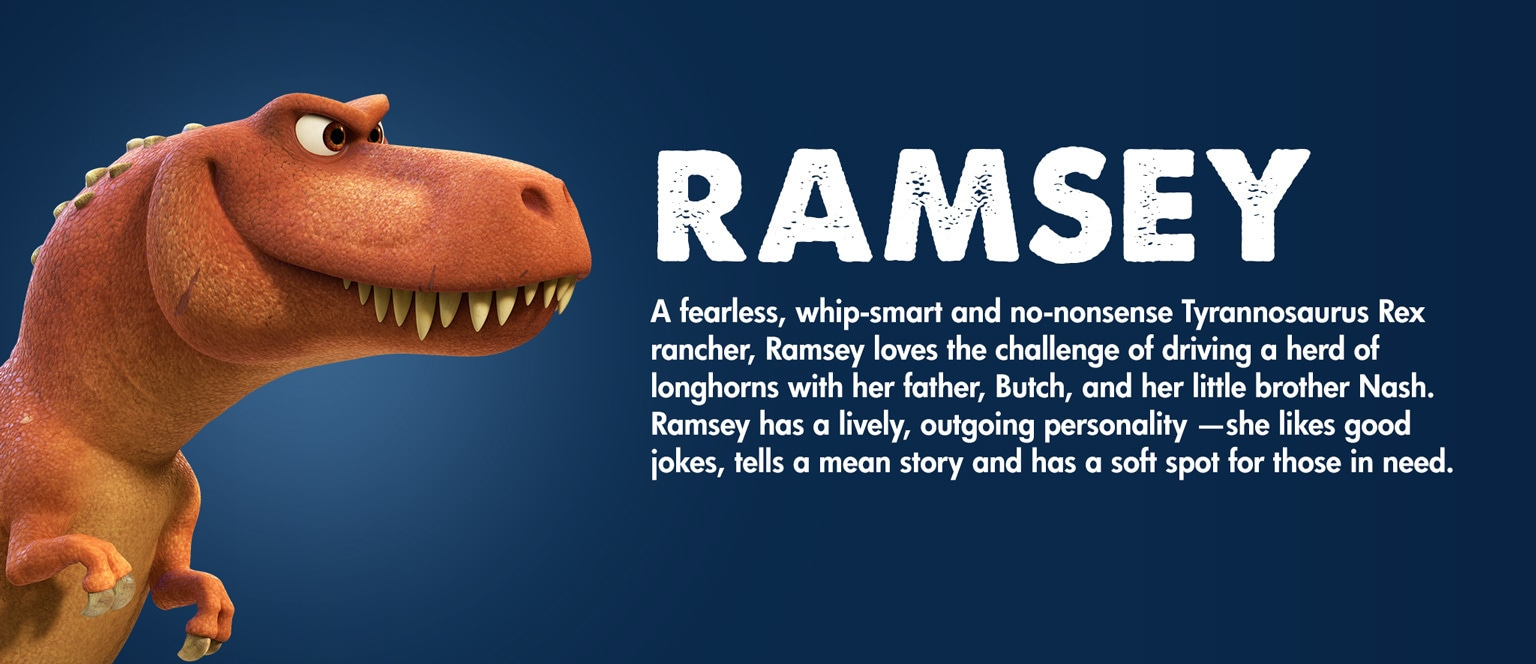 The Good Dinosaur Character Ramsey - SG