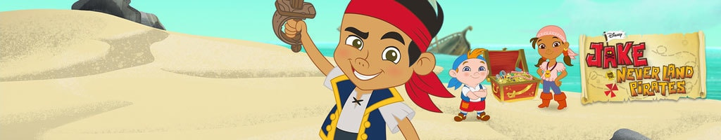 Jake and the Never Land Pirates - Site Link (Hero Universal)
