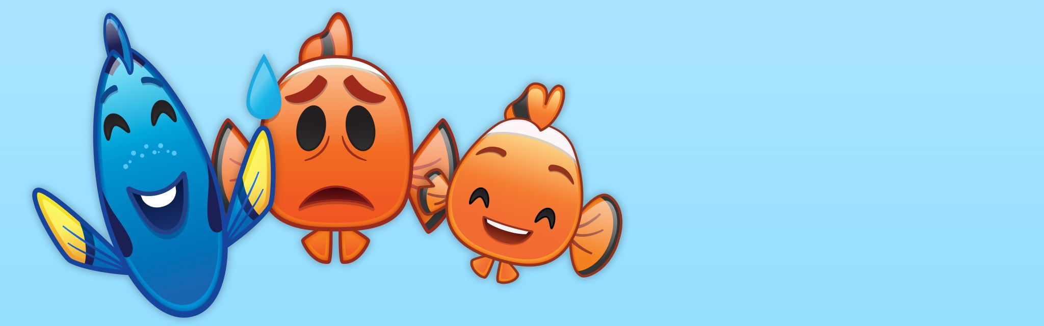 As Told By Emoji Finding Nemo Hero - TH