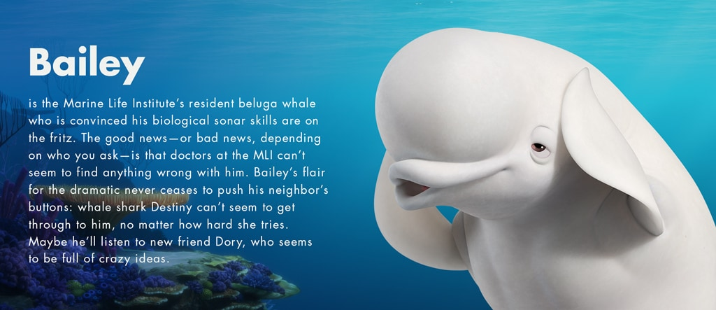 Finding Dory - Bailey character - SG