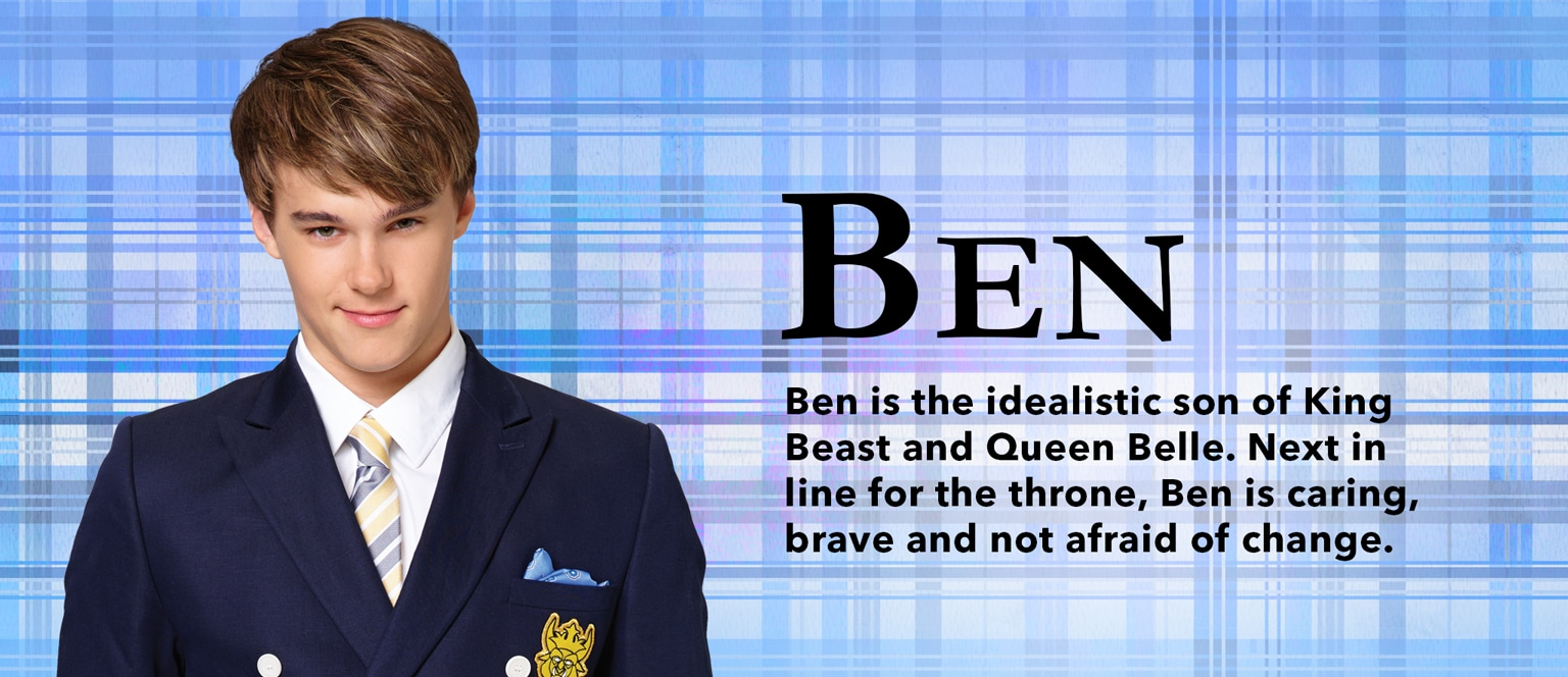 Descendants Character Slider Ben - ID