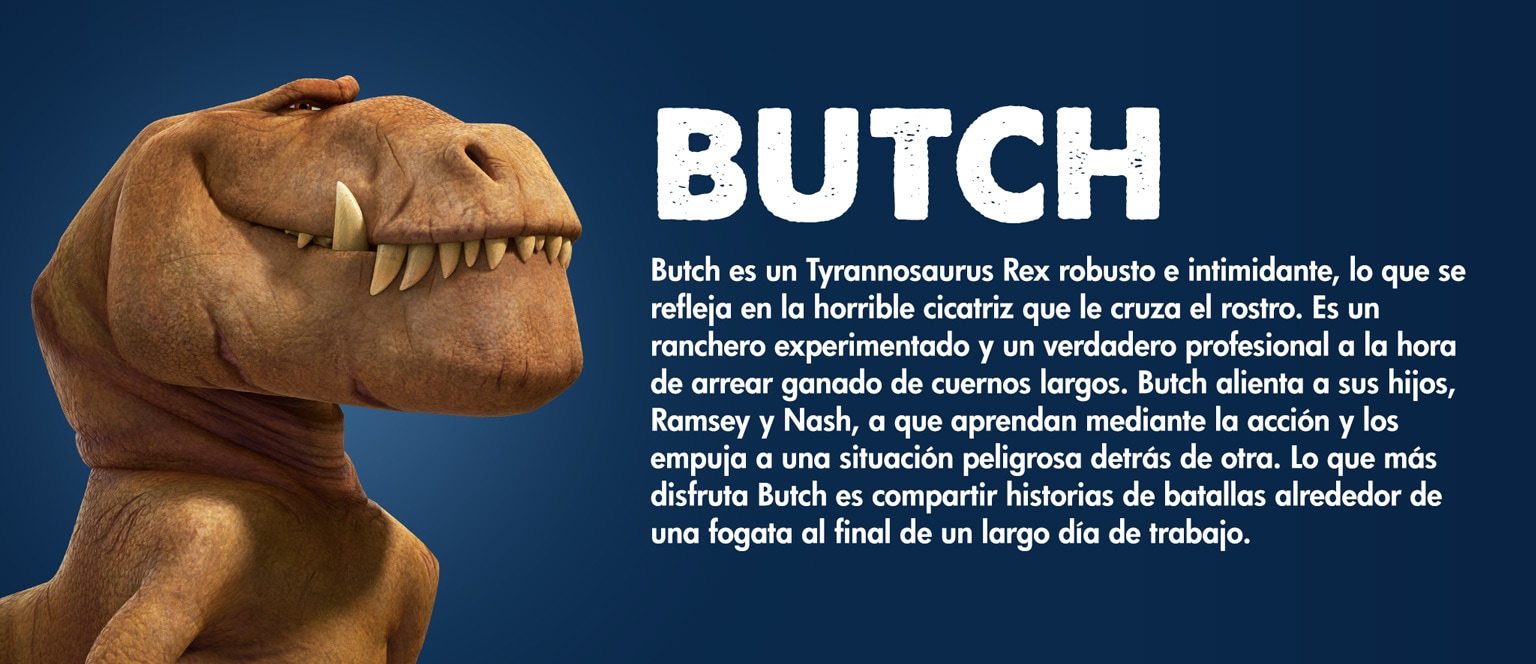 The Good Dinosaur - Character - Butch - Aja