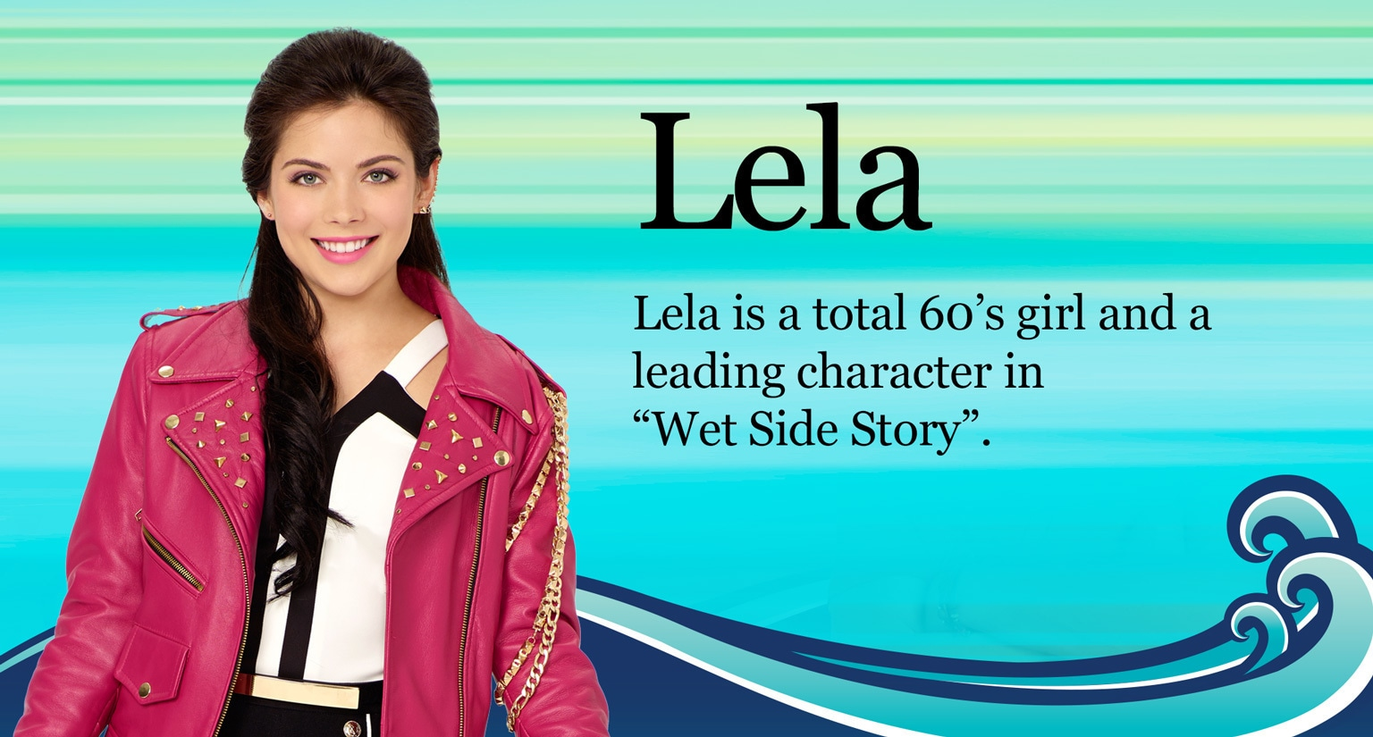 Teen Beach 2 - Show Home - Lela Character Hero