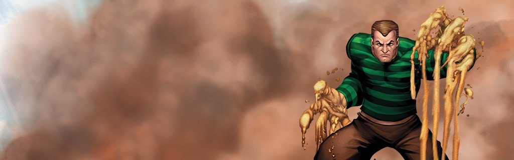 SANDMAN Character hero page NEW