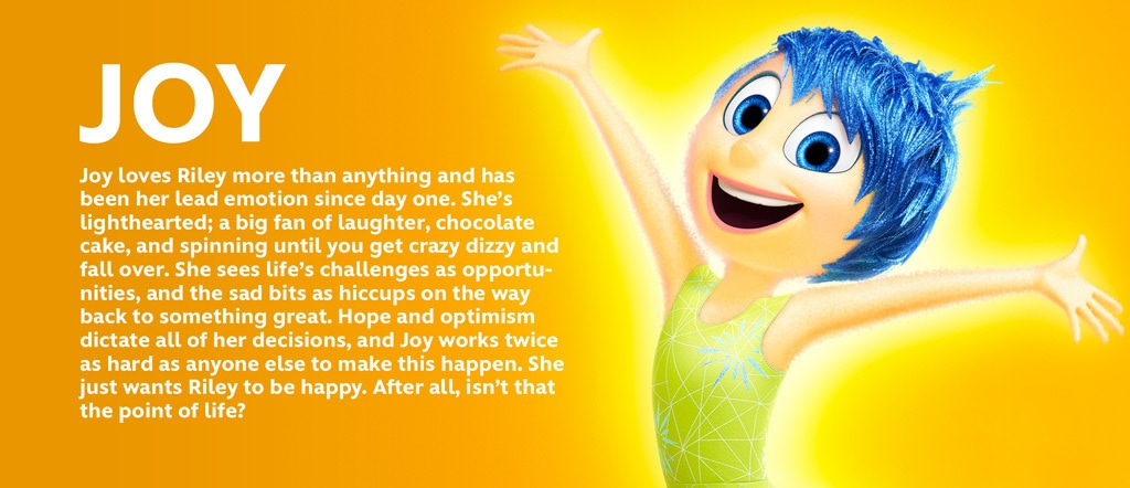 Inside Out - Joy Character