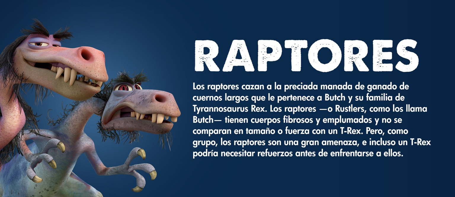 The Good Dinosaur - Character - Raptors - Aja