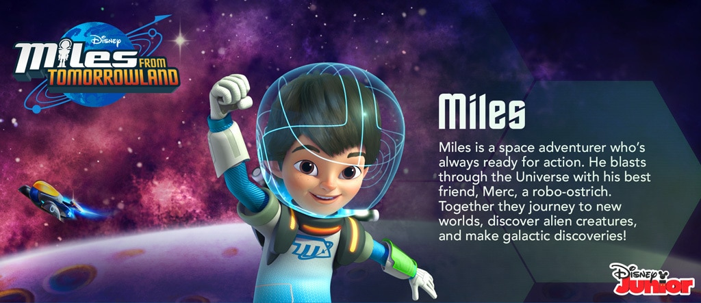 Miles From Tomorrowland - Miles Hero