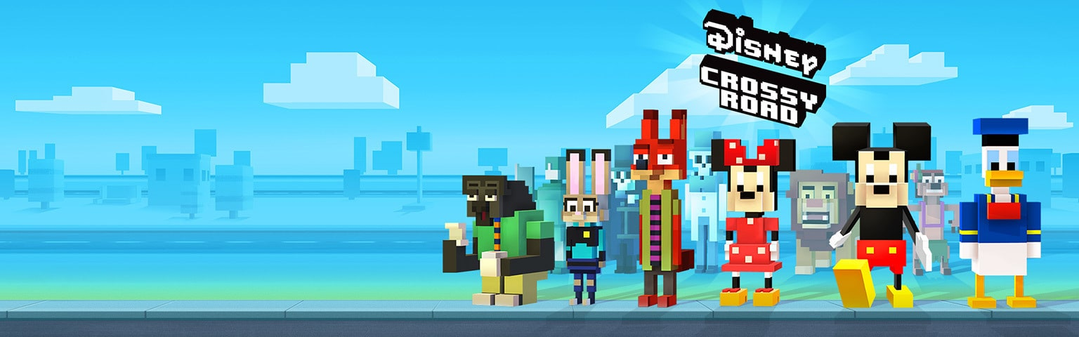 Crossy Roads - Shop App Page - Games Portal - Hero AU