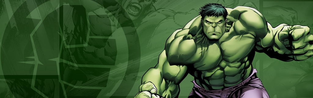 The Hulk Character Page Hero NEW