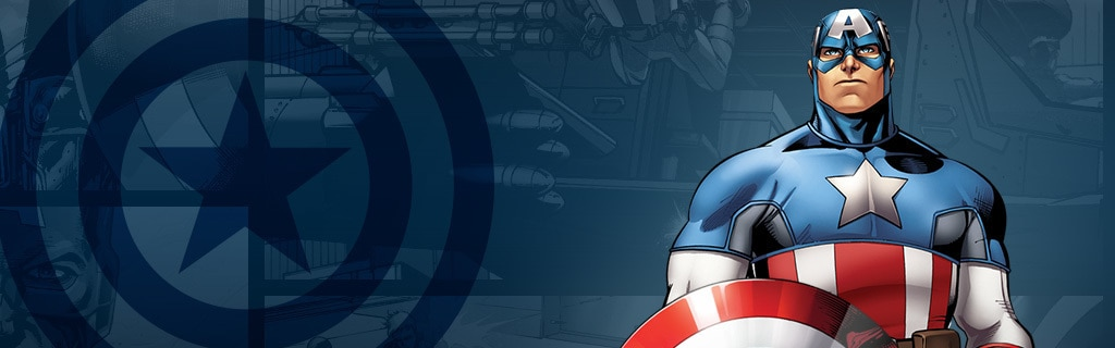 Captain America Character Page Hero NEW (DE)