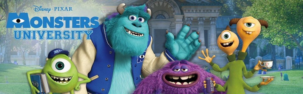 Movie Site - Monsters University