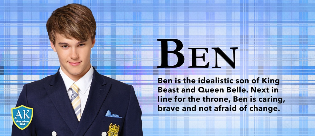 Descendants 2 - Character Slider - Ben - SEA