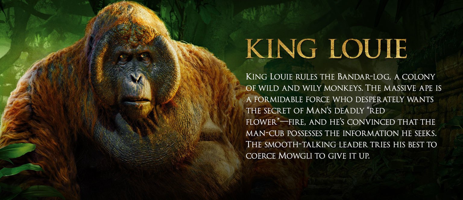 Jungle Book Characters Hero - King Louie