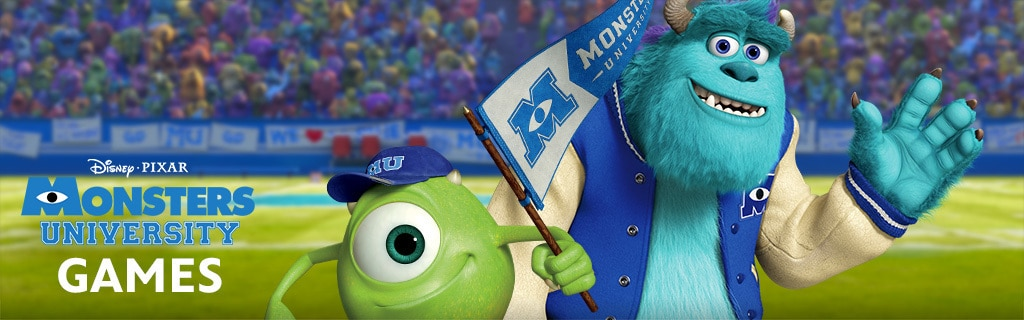 Monsters University - Games Page Hero