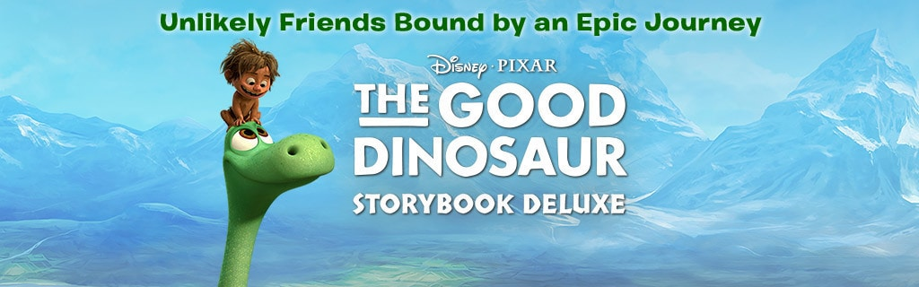 The Good Dinosaur - Storybook Deluxe - ID