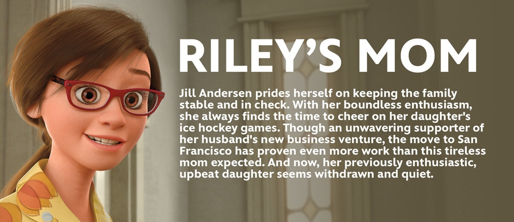 Inside Out - Riley's Mom Character